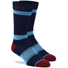 100% Opposition Chaussettes, navy